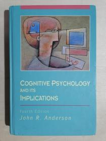 《Cognitive Psychology and Its Implications》【认知心理学及其启示】(英文原版)(小16开精装)九品