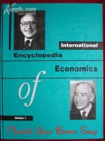 International Encyclopedia of Economics(2 Volume Set)国际的经济学百科全书(全2卷集 英语原版 精装本)