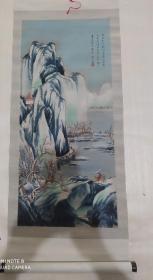 中国杭州都锦生丝织厂 唐寅 雪山行旅图