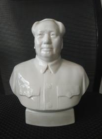 文革时期:毛主席瓷像
