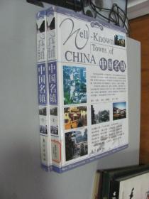 旅游百科:中国名镇 上下卷  大16开本精装盒装  包快递费