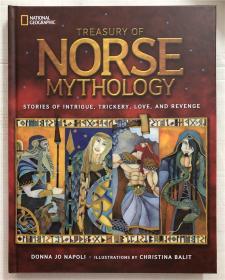 精装 Treasury of Norse Mythology: Stories of Intrigue, Trickery, Love, and Revenge挪威神话宝库:阴谋、诡计、爱情和复仇的故事