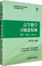 高等数学习题超精解(同济七版 上下册合订本)9成新
