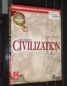 现货 文明 3 游戏攻略 国外原版