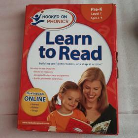 Learn to Read, Pre-K Level 1  自然拼读(带DVD)