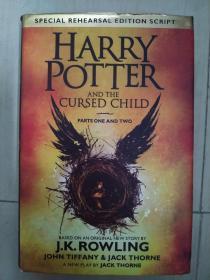 Harry Potter and the Cursed Child – Parts I & II 哈利波特与被诅咒的孩子(英国版) 英文原版