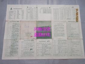 广州游览图——1962年1版1印