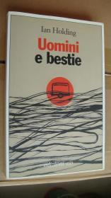 Uomini e bestie 意大利语原版 大32开近新 带香水味