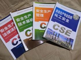 2021注册安全工程师考试教材(化工专业)4本合售