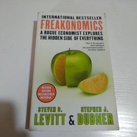 Freakonomics (New Edition)魔鬼经济学 英文原版
