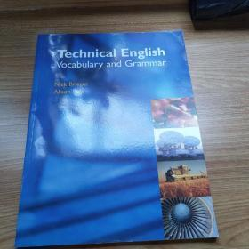 Technical English Vocabulary and Grammar 9781902741765