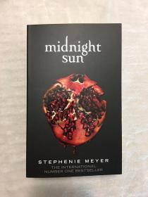 暮光之城第五部午夜阳光英版平装midnight sun paperback