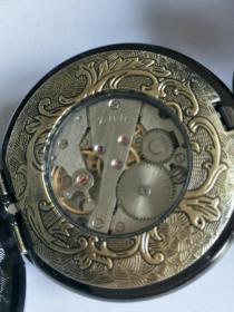 双开铜怀表,保存完好品相一流,正常使用