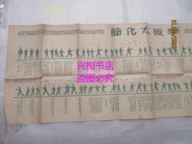 简化太极拳(单页一张:76.5*26cm)——1965年