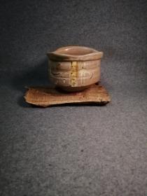 抹茶碗 日本陶瓷器 茶道具 信乐烧?