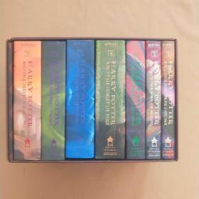 harry potter 哈利波特(英文原版 精装 全7册 有外盒 品相好)
