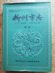 柳州市志 第一卷