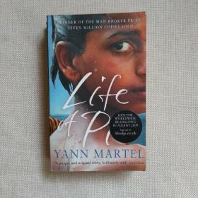 Life of Pi YANN MARTEL【正版】无划线