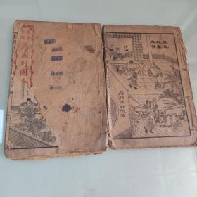 《东周列国志》共两册