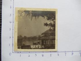 老照片14683-民国-南京玄武湖