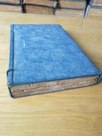 《礼记》,儒家经典,五经之一,历代皇帝贤贵治国平天下必备经典。清康熙木刻板,一函一套四(合订)册全。竹纸大字,刻印精良。规格25X17X3、6cm