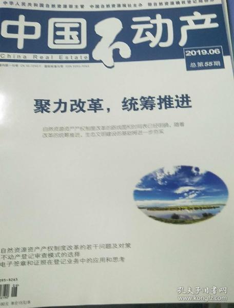 中国不动产2019年6期