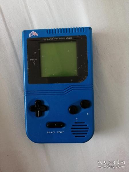 老式插卡游戏机(有游戏卡一个【口袋青】)【已试机,装上4节5号电池就能正常使用】大书架第二层