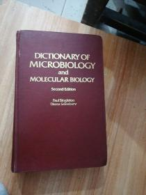 DICTIONARY OF MICROBIOLOGY and MOLECULAR BIOLOGY  微生物学和分子生物学词典
