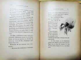MARCEL PRÉVOST  Le Domino Jaune  Les Palombes 黄多米诺骨牌    【 巴黎阿尔方斯·勒梅尔出版 精美插图】补图