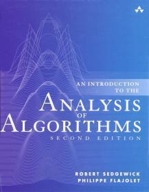 预订 An Introduction to the Analysis of Algorithms   英文原版 算法分析导论   Robert Sedgewick 罗伯特 塞奇威克