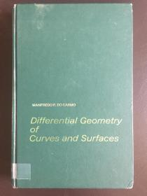 Differential Geometry of Curves and Surfaces    精装英文原版