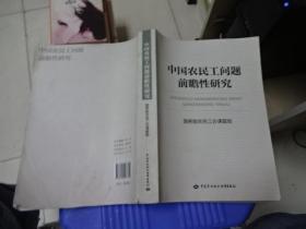 中国农民工问题前瞻性研究  正版现货  品如图   货号51-8