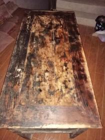清代老木桌子