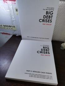 大债务危机(华尔街对冲基金桥水创始人Ray Dalio 新书)英文原版 Big Debt Crises 经济金融 投资