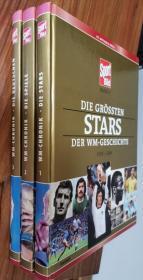 德国原版足球画册 图片报1930-2006世界杯足球史硬精三册大全套合集