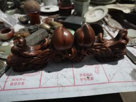 黄杨木笔架
