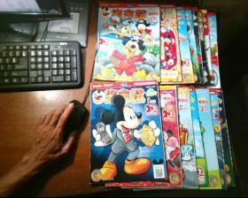 米老鼠 2013年1上下, 2下,3上下, 4上下, 5下, 6上, 7下,  9下,10上下,11上,12上 ,共15本合售 (放在下面)