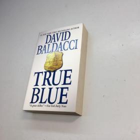 True Blue[真蓝]【外文书】 【 9品 +++ 正版现货 自然旧 多图拍摄 看图下单】