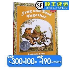 英文原版 I Can Read Level 2:Frog and Toad Together 青蛙和蟾蜍少儿分级读物儿童低幼图画书宝宝睡前故事亲子读物幽默绘本