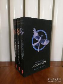 饥饿游戏,英文书,The Hunger Games Trilogy Box Set (Books 1-3) ,无笔记无划线,包邮
