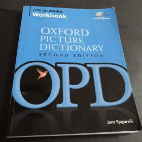 The Oxford Picture Dictionary Low Beginning Workbook牛津图片词典 第二版 入门-低级 附CD 英文原版