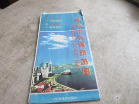 2000 青岛市交通旅游图    库2