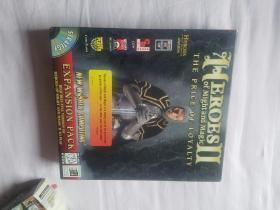 美国原版 英雄无敌 2 Heroes of Might and Magic II 现货