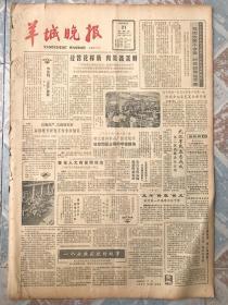 原版老报纸-1985年羊城晚报-7月合订本
