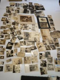 民国时期杭州三十年代左右一组家庭老照片90张合售