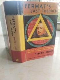 Fermats Last Theorem 《费马大定理》 【英文原版,精装本,品相佳】