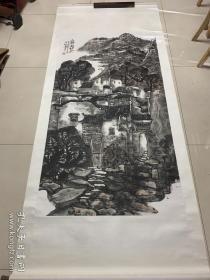 朱松发--六尺整纸山水