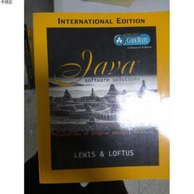 特价~现货~ Java Software Solutions: Foundations of Program D