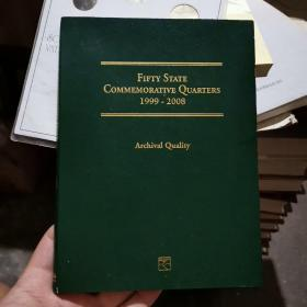 THE FIFTY STATE COMMEMORATIVE QUARTER SERIES 1999-2008 美国五十州纪念币