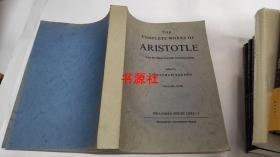 The Complete Works of Aristotle(第一卷  16开 平装本)